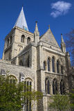 罗切斯特大教堂在肯特 图库摄影