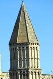 罗切斯特大教堂的螺旋,英国 免版税库存图片
