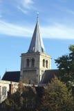 罗切斯特大教堂钟楼,英国 免版税库存图片