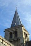 罗切斯特大教堂钟楼,英国 图库摄影