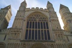 罗切斯特大教堂细节,英国 免版税库存图片