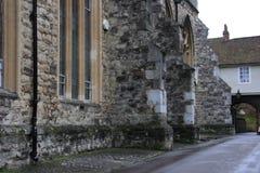 罗切斯特大教堂 库存图片