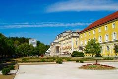 罗加什卡斯拉蒂纳疗养地,斯洛文尼亚 图库摄影