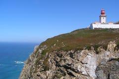 罗卡角葡萄牙-世界的末端 免版税库存照片