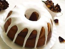 罗姆酒婆婆蛋糕 免版税库存图片