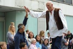 罗尔德・达尔狂欢节在艾尔斯伯里,白金汉郡 库存图片