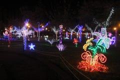 巴罗尼西圣诞节庭院 免版税库存照片