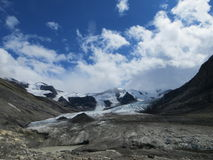 罗布森冰川 免版税图库摄影