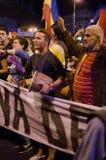 罗希亚蒙塔讷抗议在布加勒斯特,罗马尼亚- 9月08日(11日) 免版税库存照片