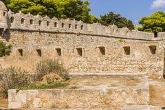 罗希姆诺堡垒,克利特 图库摄影
