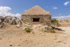 罗希姆诺堡垒,克利特 免版税库存图片