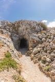 罗希姆诺堡垒,克利特 库存图片