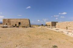 罗希姆诺堡垒,克利特 免版税库存照片
