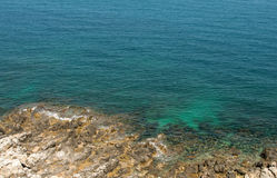 从罗希姆诺,克利特,希腊的好的看法 免版税库存照片