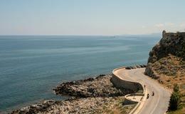 从罗希姆诺,克利特,希腊的好的看法 库存照片
