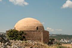 从罗希姆诺,克利特,希腊的好的看法 库存图片