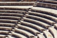 罗得岛上城台阶 免版税库存图片