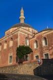 罗得岛地标Suleiman清真寺 库存照片