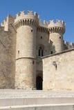 罗得岛城堡  库存照片