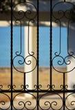 罗得岛海岛海滩的议院 免版税库存照片
