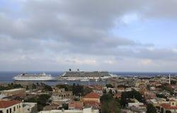 罗得岛海岛,希腊 免版税库存照片