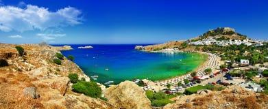 罗得岛海岛,希腊 库存照片