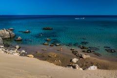罗得岛海湾 免版税库存图片