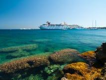 罗得岛,希腊 库存图片