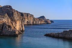 罗得岛,希腊 免版税库存照片