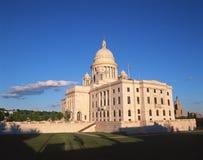 罗德岛的状态国会大厦 免版税库存图片