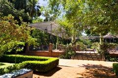 罗斯公园Rosedal,布宜诺斯艾利斯阿根廷 免版税库存图片