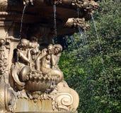 罗斯喷泉 库存照片