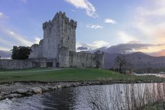 罗斯城堡。 基拉尼。 爱尔兰 免版税库存照片