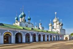 罗斯托夫克里姆林宫 免版税库存照片