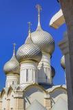 罗斯托夫的克里姆林宫假定大教堂 图库摄影