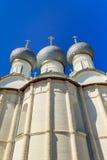 罗斯托夫的克里姆林宫假定大教堂 免版税库存照片