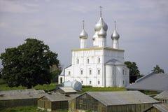 罗斯托夫罗斯托夫救主变貌大教堂17世纪 免版税库存照片