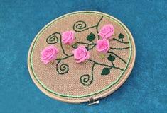 罗斯样式刺绣 图库摄影