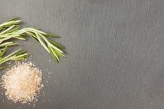 罗斯玛丽和盐 免版税图库摄影
