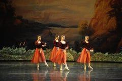 罗斯球芭蕾天鹅湖 免版税库存照片