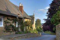 罗斯盖了村庄,英国 免版税库存照片