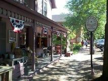 罗斯科村庄Coshocton,俄亥俄 免版税库存照片