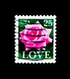 罗斯,爱问题,大约1988年 免版税库存照片