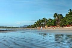 罗望子果海滩,哥斯达黎加 免版税库存照片