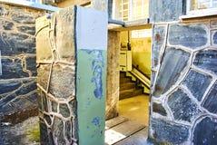 罗本岛监狱旅游参观appartheid 免版税库存图片