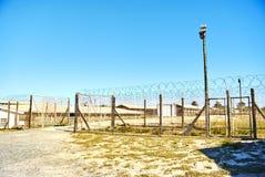 罗本岛监狱旅游参观appartheid 免版税库存照片