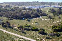 罗本岛监狱,南非 图库摄影