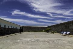 罗本岛监狱 图库摄影
