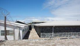 罗本岛监狱 免版税图库摄影