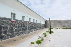 罗本岛监狱 免版税库存照片